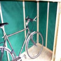 Bike Storage Shed (Sloped Roof)